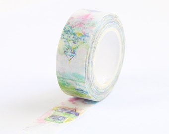 Vintage Jingdong Washi Tape / Japanese Style Washi Tape