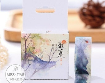 Japanese Style Ink Washi Tape