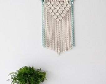 Mint Green Macrame wall hanging