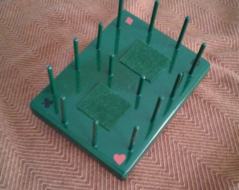 3 deck playing card holder