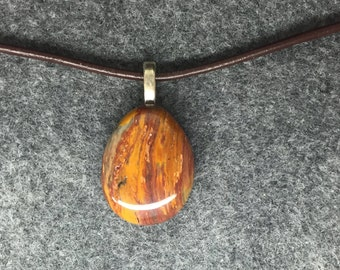 Banded Jasper Pendant