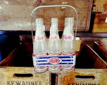 Vintage Pepsi-Cola 6 Pack Holder (metal)