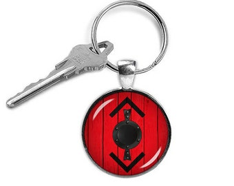 Vikings Bjorn Key Ring Fandom Jewelry Key Chain Viking Warrior Maiden Key Fob Fangirl Fanboy