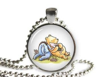 Winnie the Pooh Necklace Pendant Winnie Pooh Piglet Eeyore Classic Winnie the Pooh Jewelry