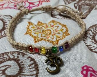 Ohm Chakra Bracelet