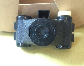 1950s Promotional Scenex Camera in Original Box w/ Instructions