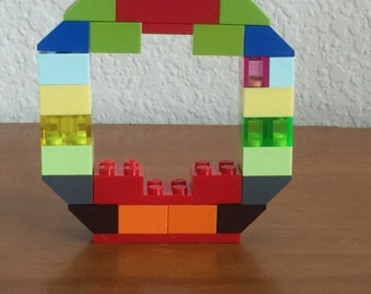 Lego Letters, personalized initials, names, words
