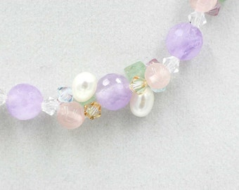 Amethyst, Sweet Lilac Necklace