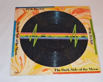 Pink Floyd Dark Side of the Moon Picture LP 33RPM