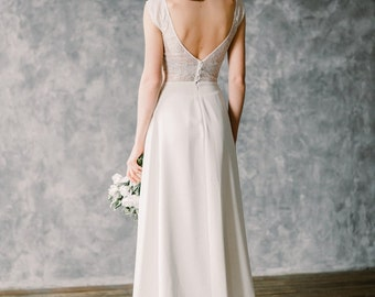 "Boho wedding dress ""Moonlight"""