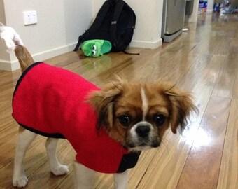TFQ Vintage upcycled wool dog rugs / jackets / coats