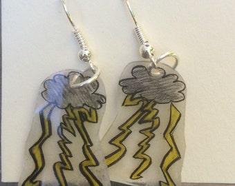 Storm earrings