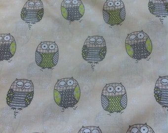 fabric pattern owls