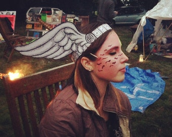 Winged Festival Headdress - Pack of 4