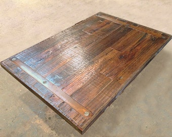 Reclaimed Wood Table Tops