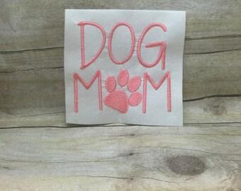 Dog Mom Embroidery Design, Furr Mom Embroidery design
