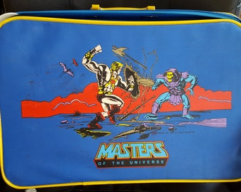 The Masters of the Universe He-Man vs Skeletor Luggage Bag Retro Vintage