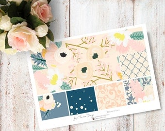"Planner Stickers for the vertical Erin Condren Life Planner - Dream Kit ""Washi"" Sheet"