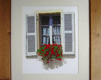Window in Brittany Cross Stitch Kit