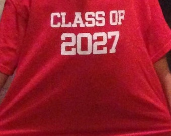 Class of 20xx shirt
