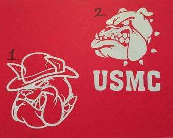 Marine Corp Decals