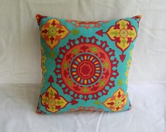 Fiesta Print Pillow