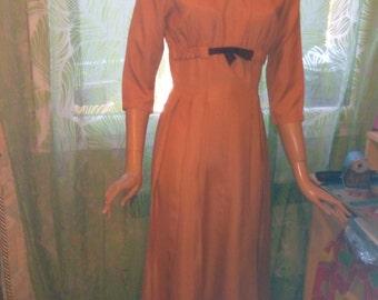 Dress handmade 1950 s! perfect condition