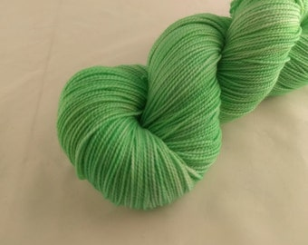 Sock Yarn - Clover Colorway - Merino Wool, Nylon Blend - Hand Dyed - Knit - Crochet - Fingering Weight