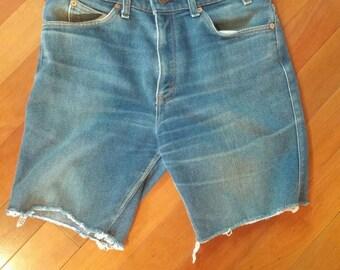 Men's Vintage Levi's Denim Cut off Shorts
