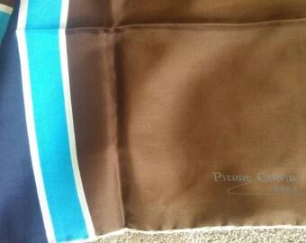 Vintage PIERRE CARDIN silk neck scarf