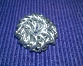 6 in 1 chainmail ring