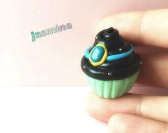 Disney inspired Princess Jasmine cupcake