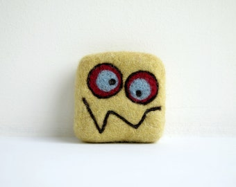 Felted soap - Light green