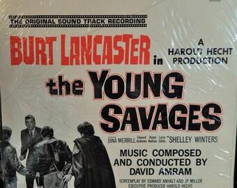 "Young Savages 12"" Vinyl Lp MINT original Soundtrack (1960, music David Amram) 1980s Limited Australian Reissue, Original Cover Artwork!"