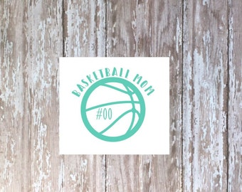 Basketball Mom decal, basketball Mom tumbler decal, Yeti basketball decal, car decal, Ozark decal, Sports Mom decal, Laptop decal