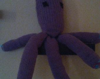 Cuddle Purple Octopus