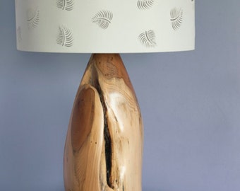 yew table lamp