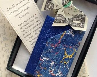 Paper Geometry Wallet (blue)