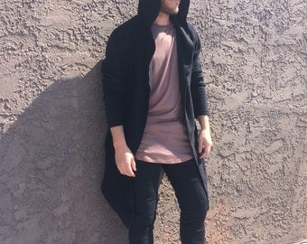 handmade hoodie mesh for men