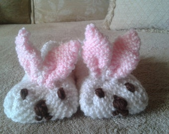 Rabbit slippers for baby