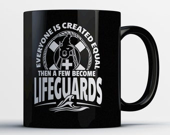 Lifeguard Mug - Lifeguard Rescue Coffee Cup - Swimming Pool Attendant Gifts