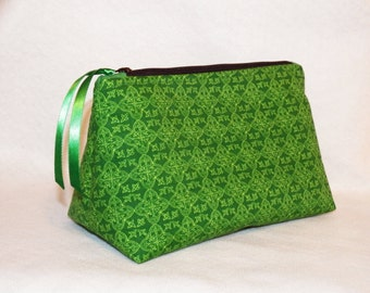 Celtic-Inspired Cosmetic Bag