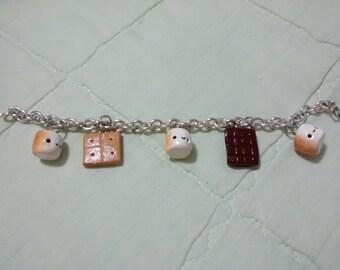 Smores Charm Bracelet