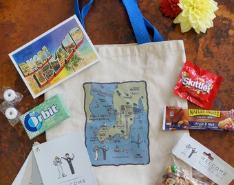Destination Wedding Guest Bag