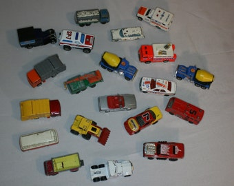 Lot of Vintage Matchbox Cars