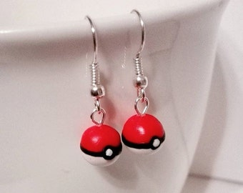 Pokémon Pokéball Earrings