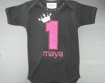 Girls Birthday Onesie