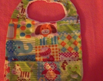 Baby Bib w/pocket