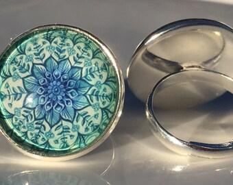 Blue Statement Ring