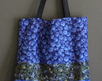 Blueberry Patch Market Bag